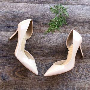 Jessica Simpson Cream Heels